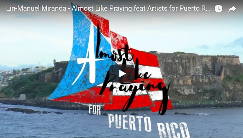 Almost like Praying – Lin Manuel Miranda Video